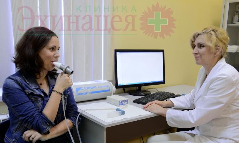 Функция внешнего дыхания (спирометрия). ФВД с нагрузкой. ФВД с бронхолитиком. Диагностика астмы