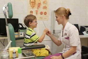 Особенности тонзиллита у детей