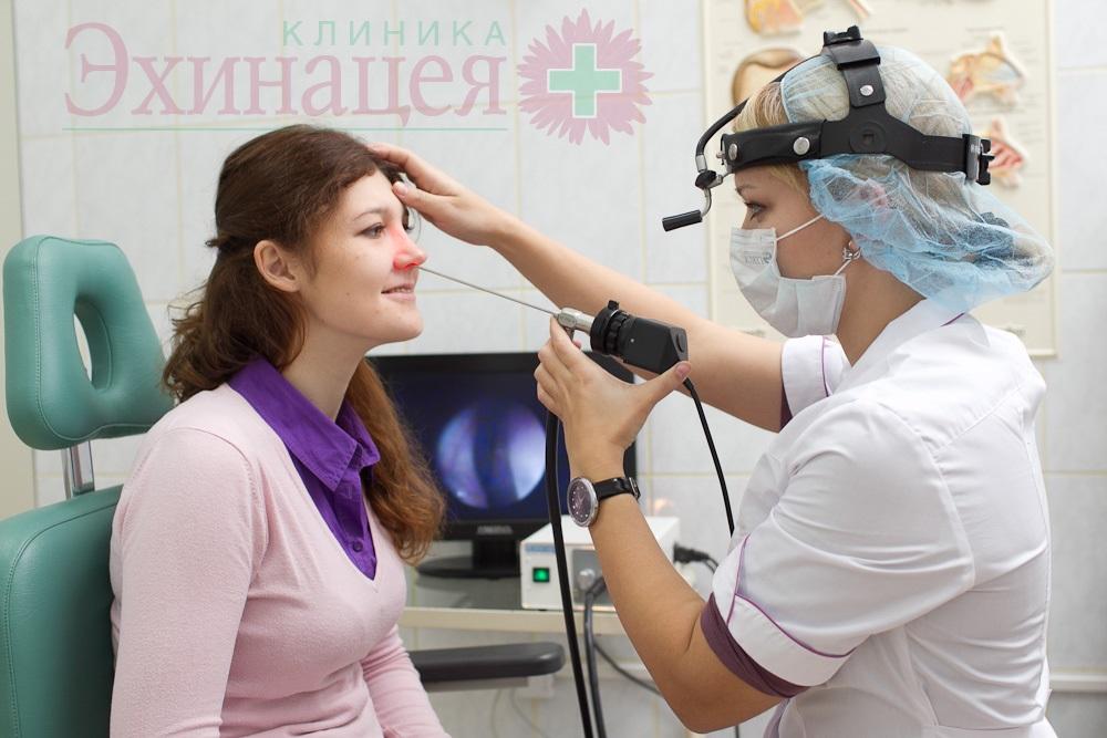 Эндоскопия полости носа и носоглотки