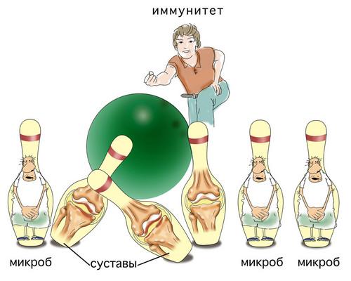 избыточная агрессия иммунитета